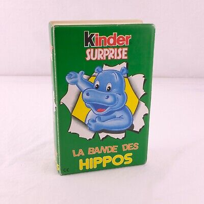 KINDER Surprise Bande of Hippos At the Gym 1990 New SEALED in Original Box Italy