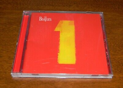 1 by The Beatles CD, Nov-2000, Apple/Capitol w/Booklet