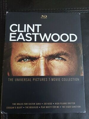 Clint Eastwood: The Universal Pictures 7-Movie Collection (blur,ay 2015 )