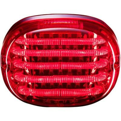 Custom dynamics Probeam red Squareback led taillight 99 - 19 Harley Davidson