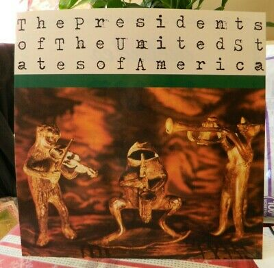 2 Sided Record Flat President Of The United States Of America Ad For Album Htf