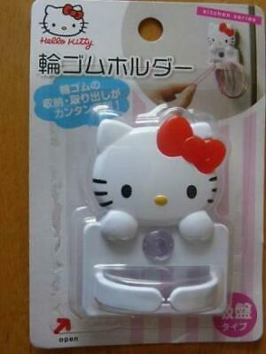 Hello Kitty Rubber Band Holder Sanrio Character Animation 64×63×40mm