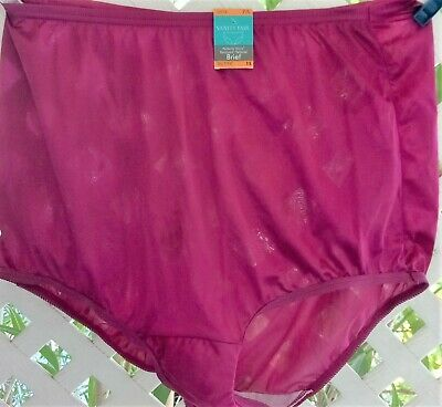 Vanity Fair Perfectly Yours Razzleberry Tailored Panty Brief 7/L