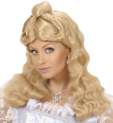 Super UK Seller Fairy Tail Prince Charming Men/'s Long Curly Blonde Wig Hero