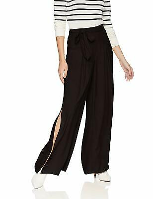 BB Dakota Womens Pants Black Size XS Hold On Tight Wide-Leg Stretch $85- 478