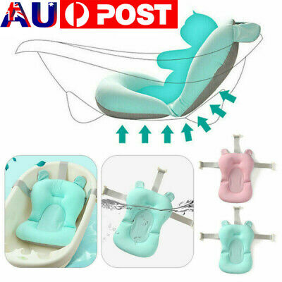 Floating Baby Bath Pad Tub Pillow Pad Air Cushion Infant born Safety Support