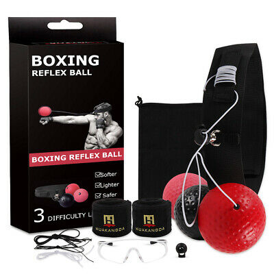Speed Reflex Fight Ball Head Band Boxing Train Boxer Punch Conjuntos ejercicios