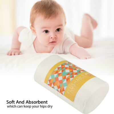 100pcs Baby Diapers Flushable Nappy Liners Cloth Diaper Disposable