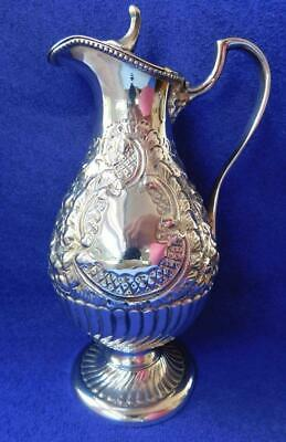 Excellent quality Hand Repoussed & Chased Ep Silver Coffee Hot water Pot 1870s