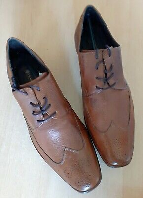 ANATOMIC Lace Up Leather Brogue Shoe - Brown - New and Unworn Size 8 (42)