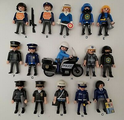 Playmobil POLICE FIRE /& RESCUE Parts 1.29-3.99 w//Combined Ship Pick /& Choose