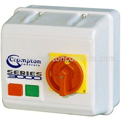 Brook Crompton /Sector 3DL1CZI10 DOL STARTER WITH ISOLATOR