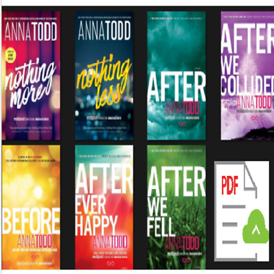 After Series (1-7) by anna todd 🔥E-ß00K, PÐF🔥(FAST E-DELIVERY) After Series
