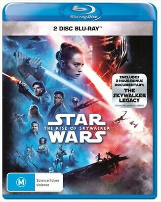 STAR WARS : The Rise of SKYWALKER : NEW Blu-Ray