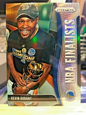 2019-20 Panini Prizm KEVIN DURANT NBA Finalists Silver Holo Refractor