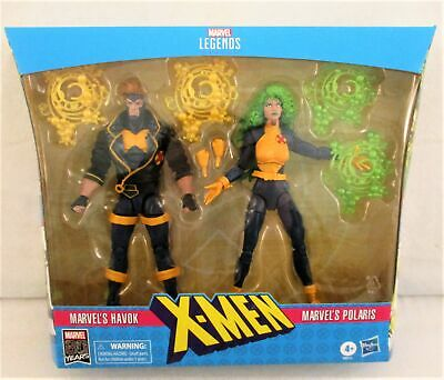 "2019 Marvel Legends 80 Years 6/"" X-Men 90/'s HAVOK /& POLARIS 2-Pack ***NO BOX***"