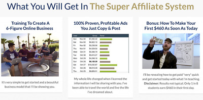 John Crestani - Super Affiliate System 3.0 Value: $997.00