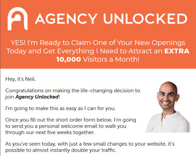 Neil Patel - Agency Unlocked Value: $1495.00