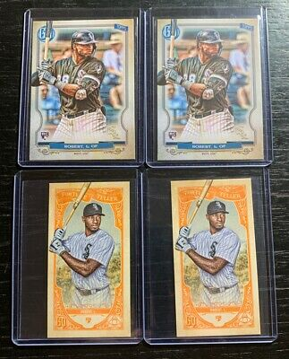 Luis Robert RC Lot(3) 2020 Topps Gypsy Queen Chicago White Sox