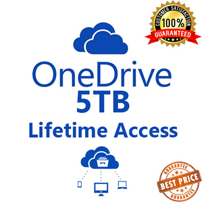Onedrive 5TB - Lifetime Account - Custom Username - Buy More For Less