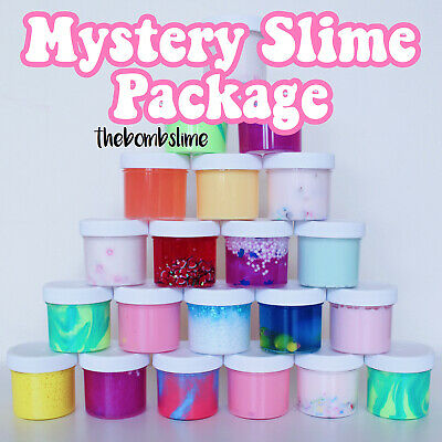 Made in the USA MYSTERY SLIME PACKAGE STRESS RELIEVING