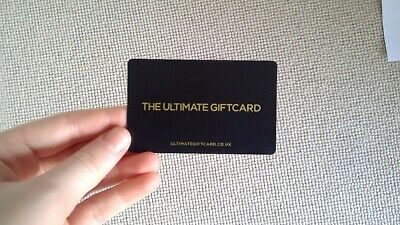 The Ultimate Gift Card Sports Voucher For JD etc. £20, unused