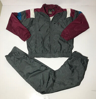Vtg Olympic Track Suit Mens S Jc Penny Team Usa 2 Piece Windbreaker Jacket Pants