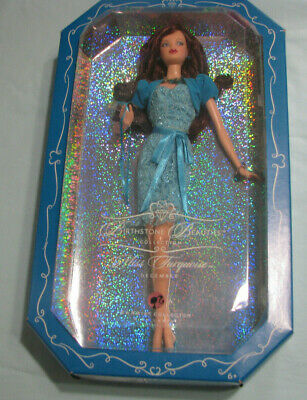 Pink Label Birthstone Beauties MISS TURQUOISE Dec Mattel Barbie Doll #K8701 NRFB