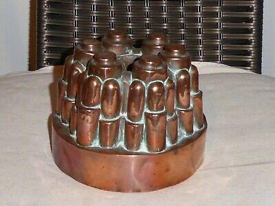 Antique Copper BENHAM & Froud Jelly Mould Mold Moule En Cuivre - Unusual No. 295