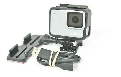 GOPRO HERO 7 WATER PROOF ACTION CAMERA | 1080P | 10MP | TOUCHSCREEN | - White