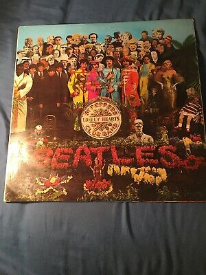 The Beatles - Sgt Peppers Lonely Hearts Club Band Lp Album Mono 1967 Uk Pmc 7027