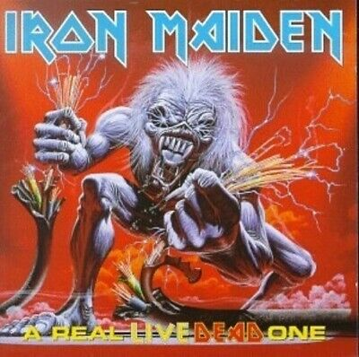 CD: IRON MAIDEN A Real Live Dead One STILL SEALED New! 2 Discs