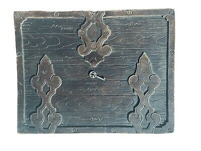 Antique Black Forest Carved Wood Dresser, glove, Jewelry Box Swiss German