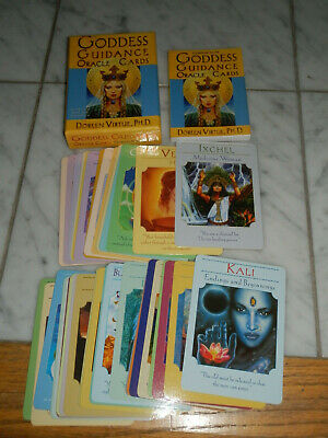 Goddess Guidance Oracle Cards by Doreen Virtue + Guidebook Cards, 2002 RARE OOP