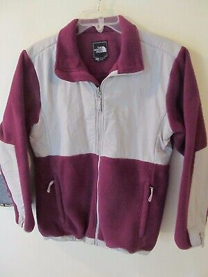 The North Face Fleece Jacket Purple Girls (youth) Size XL
