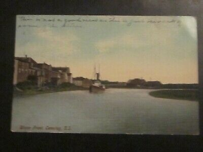 Postcard Waterfront Canning  N.S. B 967
