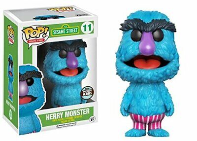 Pop Television 3.75 Action Figure Sesame Street - Henry Monster #11 Specialty