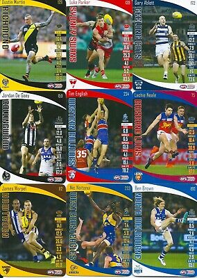 2020 afl teamcoach common trading card you choose your card