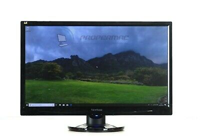 """BLACK SCREEN MONITOR TFT 22""""  FOR PC HOME OFFICE DVI or VGA Connection, No HDMI"""