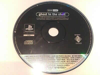 Ghost In The Shell  Playstation Ps1 Psone Psx Version Promocional