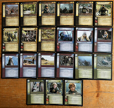 LOTR TCG Aldor Soldier of Edoras 4R262 The Two Towers Lord of the Rings MINT FOI