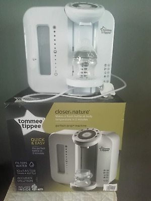 Tommee Tippee Closer To Nature Quick&Easy Perfect Prep Machine*White*