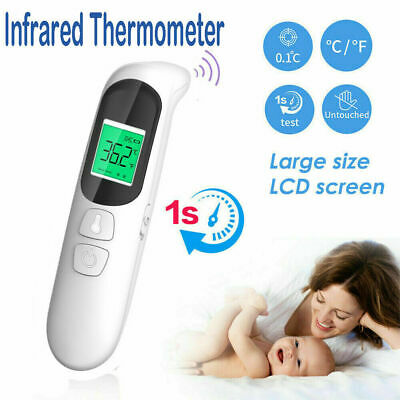 Digital IR Infrared Thermometer Non Contact Temperature LCD Display CA