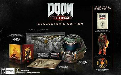 DOOM Eternal Collector's Edition PlayStation 4 PS4 *IN HAND* FAST SHIPPING!!