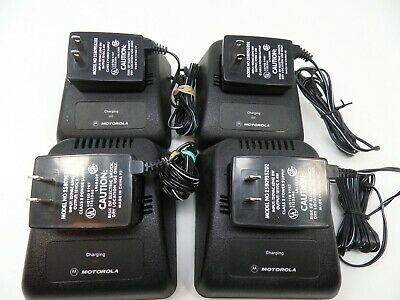 4-MOTOROLA JEDI BATTERY CHARGER  & MOTOROLA POWER SUPPLY (inv#4)