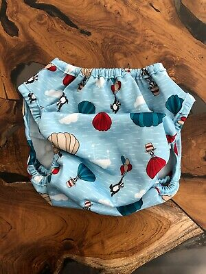 Bambino Mio Cloth Diaper Blue No Size Listed But My Guess Is A Small
