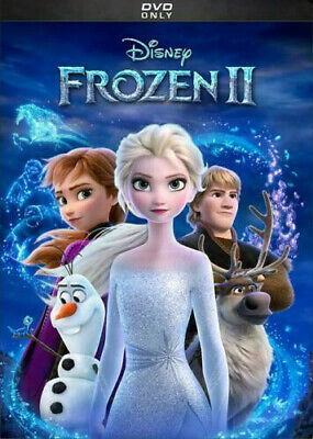 Frozen II 2 (DVD 2019 2020) NEW Factory Sealed Ready To Ship