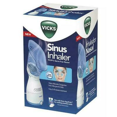 NEW Vicks Sinus Inhaler Personal Steam Therapy Sinus Relief Face Mask Open Box