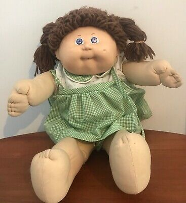 Vintage CABBAGE PATCH KIDS Xavier Roberts DOLL Signed 1985 COLECO Toys OK Cpk