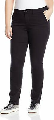 Celebrity Pink Womens Pants Black Size 18 Plus Straight Mid-Rise Stretch $49 022